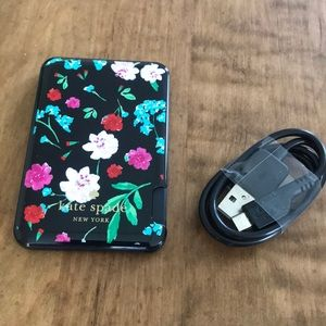 Kate Spade Slim Portable Powerbank Floral Garden
